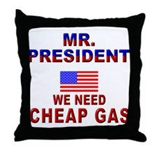 Bio-d Mr. President... Throw Pillow