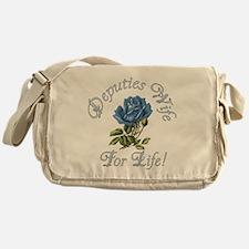 Deputies Wife For Life Messenger Bag