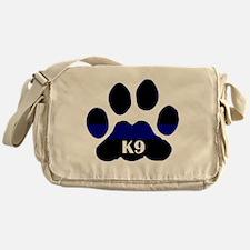 K9 Thin Blue Messenger Bag