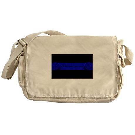 PoliceWives.Org Blueline Messenger Bag
