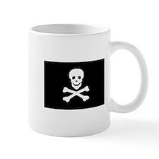 Black Pirate Flag Mug