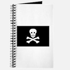 Black Pirate Flag Journal