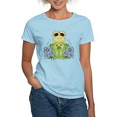 Fun Frog & Flowers T-Shirt