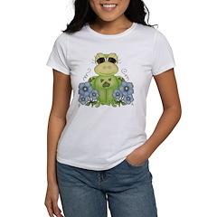 Fun Frog & Flowers Tee