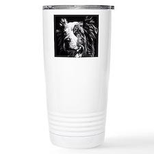 Dramatic Australian Shepherd Travel Mug