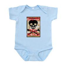 Dead Men Tell No Tales Infant Bodysuit