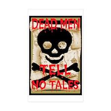 Dead Men Tell No Tales Decal
