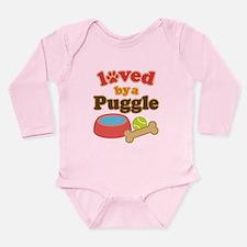 Puggle Dog Gift Onesie Romper Suit
