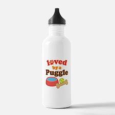 Puggle Dog Gift Water Bottle