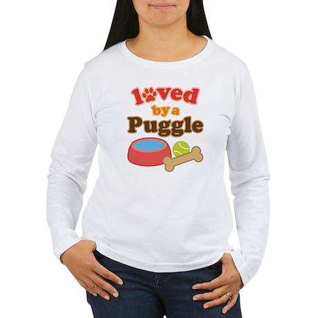 Puggle Dog Gift Women's Long Sleeve T-Shirt