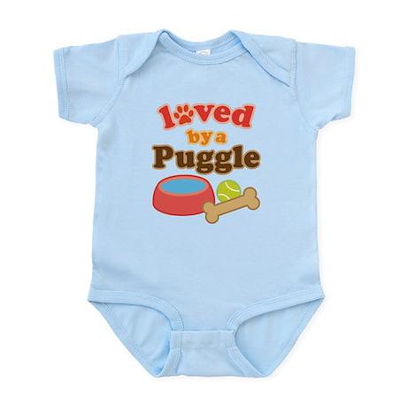 Puggle Dog Gift Infant Bodysuit
