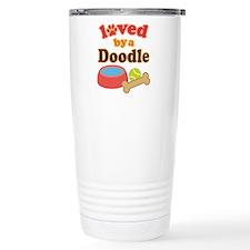 Doodle Dog Gift Travel Mug