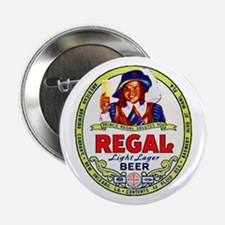 """Louisiana Beer Label 1 2.25"""" Button"""