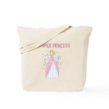 Summer Princess for Girls Tote Bag