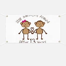 13th Anniversary Love Monkeys Banner
