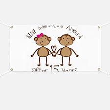 15th Anniversary Love Monkeys Banner