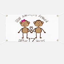 17th Anniversary Love Monkeys Banner