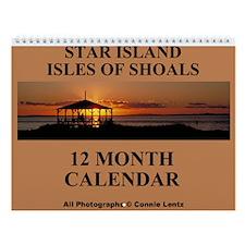 Star Island 12 Photographs Wall Calendar 9 x 11