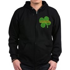LEPRECHAUNS ARE AFTER MY DIDG Zip Hoodie