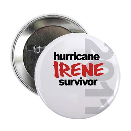"""Hurricane Irene Survivor 2.25"""" Button (10 pack)"""