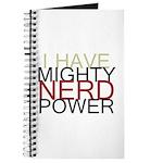MIGHTY NERD POWER Journal