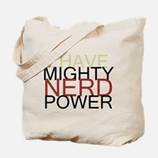 MIGHTY NERD POWER Tote Bag