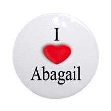 Abagail Ornament (Round)