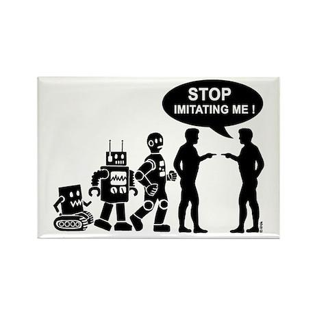 Robot evolution Rectangle Magnet