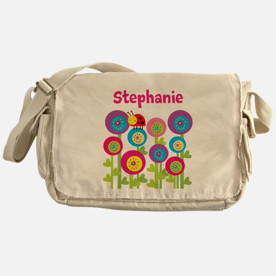Garden Personalized Messenger Bag