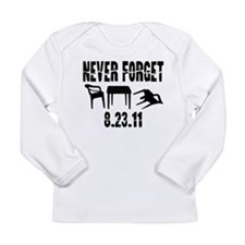 NEVER FORGET Long Sleeve Infant T-Shirt