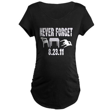 NEVER FORGET Maternity Dark T-Shirt