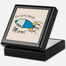 Out of this World Mom! Keepsake Box
