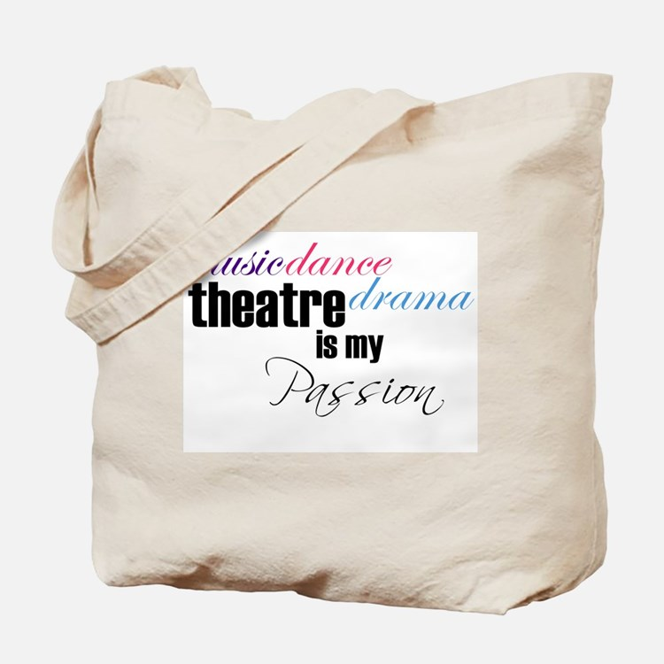 Cute Music theater Tote Bag