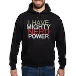 MIGHTY NERD POWER Hoodie (dark)