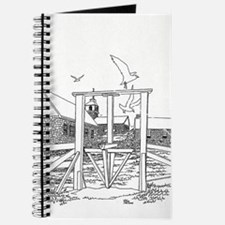 B/W Turnstile and Gull Journal