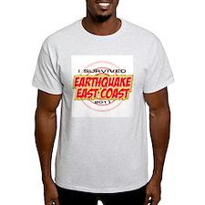 I Survived Earthquake East Coast 2011 T-Shirt