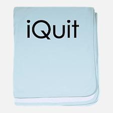 iQuit (Jobs) baby blanket
