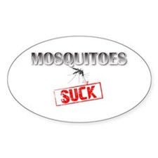 Mosquitoes SUCK funny graphic Decal