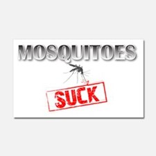 Mosquitoes SUCK funny graphic Car Magnet 20 x 12