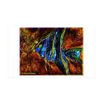 Angel Fish 35x21 Wall Decal