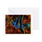 Angel Fish Greeting Cards (Pk of 10)