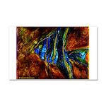 Angel Fish Car Magnet 20 x 12