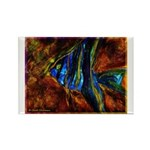 Angel Fish Rectangle Magnet (100 pack)
