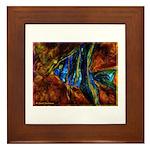 Angel Fish Framed Tile