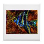 Angel Fish Tile Coaster