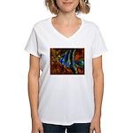 Angel Fish Women's V-Neck T-Shirt