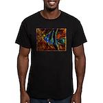Angel Fish Men's Fitted T-Shirt (dark)
