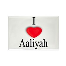 Aaliyah Rectangle Magnet