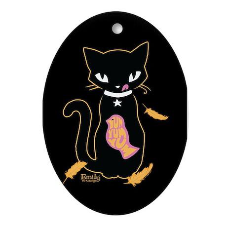Yummy - Marigold Ornament (Oval)