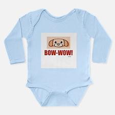 Pet Sentiments Long Sleeve Infant Bodysuit